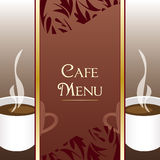 Cafe Menu Design Royalty Free Stock Photo