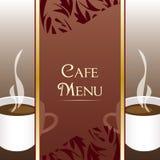 Cafe Menu Design. Cafe menu background illustration design Royalty Free Stock Photo
