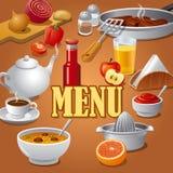 Cafe menu Royalty Free Stock Image