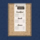 Cafe menu restaurant brochure. Food design template. Vector illustration cook doodle pizza chef flyer grill poster vintage lunch dinner cover cooking drawing vector illustration