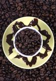 Cafe Mocha. The coffee purest....cafe mocha royalty free stock images
