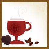 Cafe Mocha Frame Stock Photo