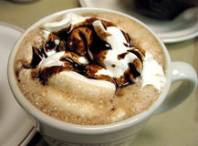 Cafe Mocha Stock Photo