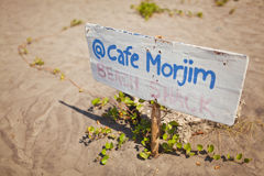 Cafe Morjim Royalty Free Stock Photos