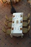 cafe oceanside Obraz Stock