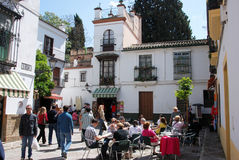 Cafe in the old town, Seville. Stock Image