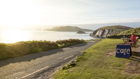 Free Cafe On Scenic Slea Head Drive Stock Photography - 162205612