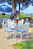Cafe on the open air Stock Images