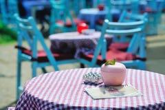 Cafe outdoors Royalty Free Stock Photos