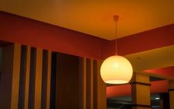 Cafe Overhead Lighting Stock Photos