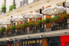 cafe paris royaltyfri foto