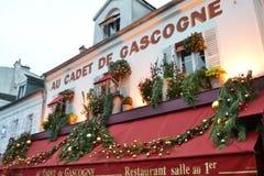 Cafe in Paris Royalty Free Stock Photos