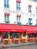 Cafe in Paris Royalty Free Stock Photography