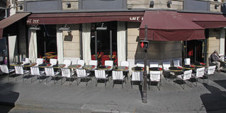 Cafe Paris France Stock Photography