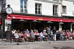 Cafe in Paris Stock Image
