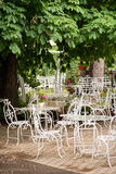 Cafe in park or street Royalty Free Stock Photos
