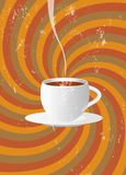 Cafe\' promotion Stock Photo