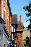 Cafe and Pub along Hay Lane, Coventry. Royalty Free Stock Image