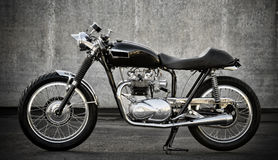 Cafe Racer motorcycle Royalty Free Stock Image