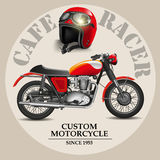 Cafe racer Royalty Free Stock Image