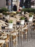 Cafe Restaurant Nyhavn Royalty Free Stock Photos