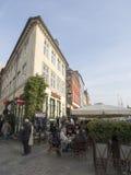 Cafe Restaurant Nyhavn Stock Image