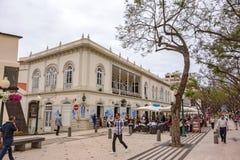 Cafe / Restaurant The Ritz, Avenue Arriaga, Funchal, Madeira Royalty Free Stock Photography