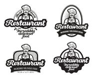 Cafe, restaurant vector logo. diner, eatery icon Royalty Free Stock Photography