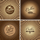 Cafe in retro style Royalty Free Stock Image