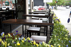 Cafe By the Roadside Royalty Free Stock Photography