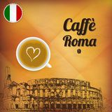 Cafe Roma Royalty Free Stock Photos