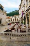 Cafe Scene, Dubrovnik Stock Photography