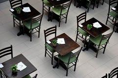 Café in shopping center Stock Images