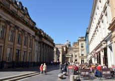 Cafe society, Glasgow, Scotland Stock Images