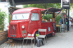 Cafe on South Bank London Royalty Free Stock Image
