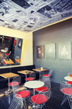 Cafe space  in design - hotel Stock Photos