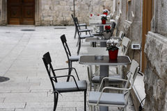 Cafe in Split Royalty Free Stock Images
