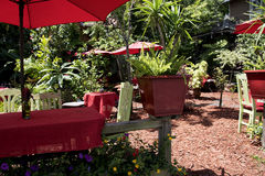 Cafe in St Augustine Florida USA Royalty Free Stock Photo