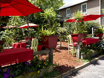 Cafe in St Augustine Florida USA Stock Photo