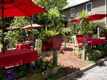 Cafe in St Augustine Florida USA Stock Photography