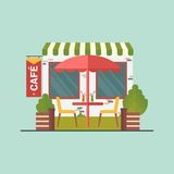 Cafe on street Royalty Free Stock Photo