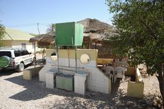 Cafe on the street in Hargeisa Stock Image