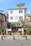 Cafe in Sultanahmet district in Istanbul, Turkey Stock Image