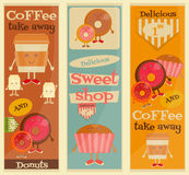 Cafe Sweet Shop Stock Photo