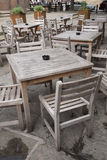 Cafe Table and Chairs Royalty Free Stock Photos