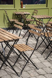 Cafe Table and Chairs Royalty Free Stock Photo