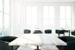 Cafe table closeup Stock Image