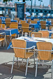 Cafe tables Stock Photography