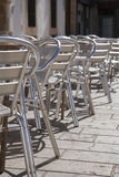 Cafe Tables and Chairs Stock Photography