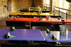 Cafe tables. Stock Photography